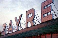 The old Zayre sign from Rapids Drive Racine WI