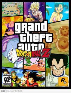 Grand Theft Auto - Dragon Ball Z - Funny