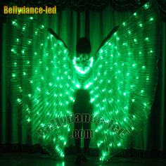 Another super clearance item, Green LED wings