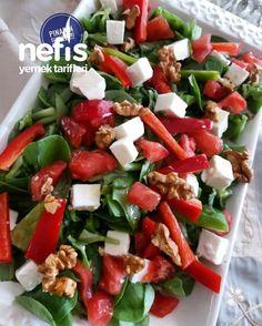 Semizotu Salatası - Nefis Yemek Tarifleri - PINARIN SUNUMLARI #semizotusalatası #salatatarifleri #nefisyemektarifleri #yemektarifleri #tarifsunum #lezzetlitarifler #lezzet #sunum #sunumönemlidir #tarif #yemek #food #yummy Yummy Recipes, Salad Recipes, Yummy Food, Healthy Recipes, Easy Salads, Healthy Salads, Crab Stuffed Avocado, Cottage Cheese Salad, Roasted Meat