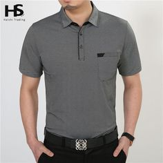 b75d53b4f079 Free Shipping Short Sleeve T Shirt Cotton Clothing Men T-Shirt With Pocket  Casual Dress
