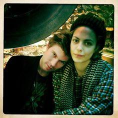 Hannah with Thomas Bartlett aka Doveman