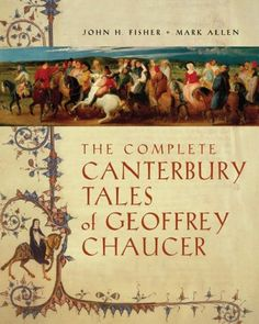 """Chaucer's """"The Canterbury Tales.""""      """"Experience--and no matter what they say  In books--is good enough authority  For me to speak of trouble in marriage.  For ever since I was twelve years of age,  Thanks be to God, I've had no less than five  Husbands at church door--if one may believe  I could be wed so often legally!"""" -- The Wife of Bath"""