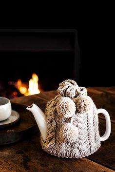 KR Hand Knitted Tea Cosy - Kara Rosenlund