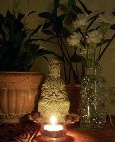 Kwan Yin...the Goddess of compassion..