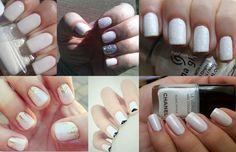 Unha Branca (White Nails) será tendência até o verão 2014!