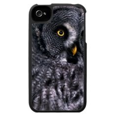 Great Grey Owl iPhone 4 Cases