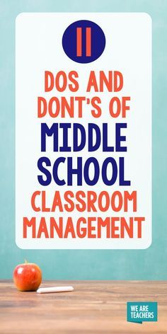 11 Dos and Don'ts of Middle School Classroom Management - - 11 Dos and Don'ts of Middle School Classroom Management Science Classroom 11 Vor- und Nachteile des Klassenmanagements in der Mittelschule – WeAreTeachers Middle School Ela, Middle School Behavior, Middle School Libraries, Middle School English, Middle School Classroom, High School, Middle School Procedures, Student Behavior, Middle School Management