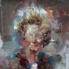 Painting by Ryan Hewett