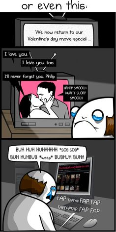 The worst thing about Valentine's day