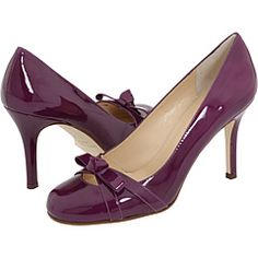 Purple patent shoes from Kate Spade. If I had money to blow it'd be on these!