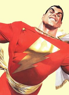 SHAZAM - The Power of Hope - this is a fantastic book, and illustrates why this character is still one of the greatest. Original Captain Marvel, Captain Marvel Shazam, Dc Comics Characters, Dc Comics Art, Mary Marvel, Dr Fate, Best Superhero, Alex Ross, Detective Comics