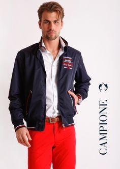 CLAUDIO #CAMPIONE #Herrenmode ist souveräne und zugleich lässige Bekleidung und #Fashion für Männer, die aktiv sind und wissen was sie wollen.