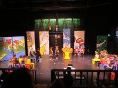 'Seussical' set design by Kim Ford Kitz kimfordkitz.com