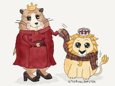 """No really,"" #TheRoyalHamster insists. ""I'm not even wearing it."" *wonders if that Canadian politeness is contagious*"
