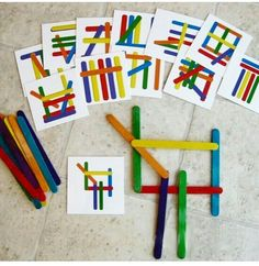 MaTe + TICas und ArTe: Mathematisches Spielzeug aus recycelten Materialien, You are in the right place about Montessori Materials teachers Here we offer y Toddler Learning Activities, Montessori Activities, Classroom Activities, Kindergarten Activities, Preschool Activities, Early Learning, Kids Learning, Montessori Materials, Kids Education