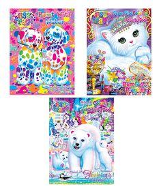 Take a look at this Lisa Frank Coloring & Activity Book Set today!