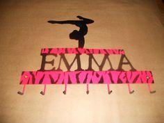 Personalized Gymnastics Medal Holdersmall by PAMetalMasterz, $30.00