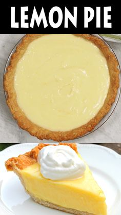 Sour cream lemon piemagnificent smooth creamy light and refreshing oh yeah this was amazing! magnolia s lemon pie Lemon Recipes, Pie Recipes, Cooking Recipes, Lemon Dessert Recipes, Köstliche Desserts, Delicious Desserts, Sour Cream Desserts, Mason Jar Desserts, Plated Desserts