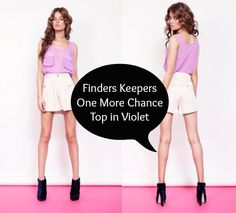 Gorgeous + on sale! http://tellstyle.com/clothing/finders-keepers-one-more-chance-top/