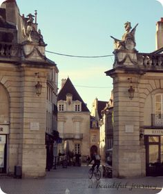 Dijon, France - quick day trip from Paris (train is only 1.5 hours), in wine country