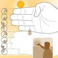 Geniálny trik, ako určiť čas iba pomocou prstov