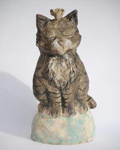 Cat nap,  Stoneware www.ashleyjamesdesign.co.uk