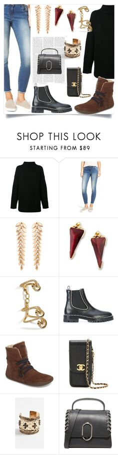 """My Style"" by mkrish ❤ liked on Polyvore featuring Alexander McQueen, KUT from the Kloth, FerrariFirenze, Kendra Scott, Ileana Makri, Alexander Wang, Camper, Chanel, Aurélie Bidermann and 3.1 Phillip Lim"