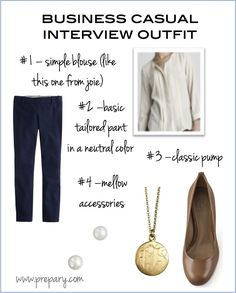 the perfect business casual #interviewoutfit #jcrew #joie #toryburch #prepary