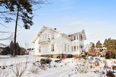 """http://www.villaskovly.no  House from the """"New Romanitc"""" period in Norway, a Suisse styled house, dated 1886"""