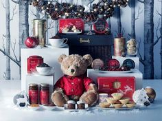 Christmas With Harrods Country Christmas, Christmas Time, Harrods Christmas, Christmas Hamper, Christmas Inspiration, Rustic, Hampers, Home Decor, London