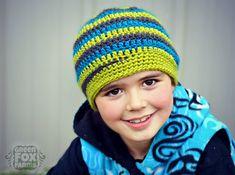 CUSTOM Twisted Winter Hat Boys Crochet Spiral by GreenFoxFarms, $30.00
