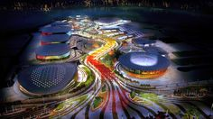 Design for Rio Olympic park revealed