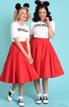 Original Mousketeers - Creative Halloween Costume Ideas for You and Your Best Fr. - Original Mousketeers – Creative Halloween Costume Ideas for You and Your Best Friends – Photos - Mickey Halloween Party, Retro Halloween, Halloween Motto, Halloween Stuff, Halloween 2017, Halloween Ideas, Modest Halloween Costumes, Creative Halloween Costumes, Disneyland Halloween Costumes