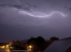 Stunning Lightning Display - 2am N. Herefordshire 19/7/14 - Photo by Howard Kirby