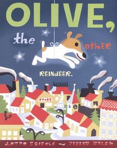 Olive, the Other Reindeer  #GiveBooks @Chronicle Books