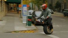 The RYNO is a one-wheeled self-balancing electric personal transportation device, designed for short, low-speed trips.