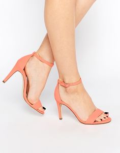 Call It Spring Waylanda Pink Two Part Heeled Sandals