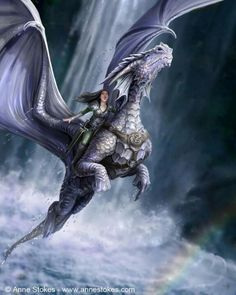 Dragons of Pern Books. Dragons - Anne Stokes - Take To The Air Fantasy Anime, Fantasy World, Dragon Medieval, Dragon Oriental, Arte Game Of Thrones, Anne Stokes, Dragon Artwork, Dragon Rider, Dragon Warrior
