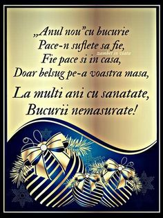 An Nou Fericit, Happy New Year Images, Kids Poems, Background Pictures, Motto, Christmas Cards, Happy Birthday, Quotes, Romania