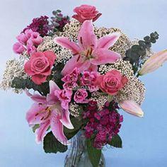 DIY MOTHER'S DAY FLOWER ARRANGEMENTS | Mother's Day Pink Table Arrangements