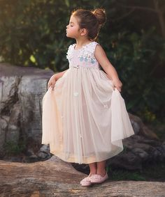 trish scully child another great find on #zulily! Rose Aria Dress - Infant, Toddler & Girls #zulilyfinds