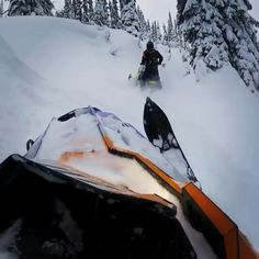 Always ride with people you trust in the backcountry 👌🏼🤘🏼 Snow Pony, Storm Pictures, Travel Pictures Poses, Wow Video, Snow Style, Island Park, Snow Fashion, Outdoor Toys, Sled