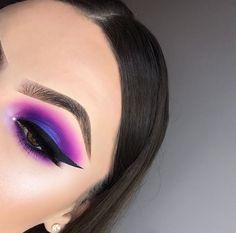 Gorgeous Makeup: Tips and Tricks With Eye Makeup and Eyeshadow – Makeup Design Ideas Eye Makeup Glitter, Smoke Eye Makeup, Makeup Eye Looks, Dramatic Eye Makeup, Purple Eye Makeup, Hooded Eye Makeup, Colorful Eye Makeup, Makeup For Green Eyes, Eye Makeup Tips