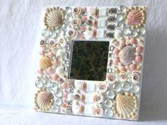 Geschenke für Frauen - Dekoration Bad Spiegel - ein Designerstück von LonasART bei DaWanda