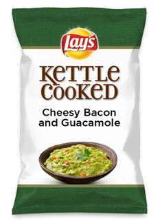 Wouldn't Cheesy Bacon and Guacamole be yummy as a chip? Lay's Do Us A Flavor is back, and the search is on for the yummiest flavor idea. Create a flavor, choose a chip and you could win $1 million! https://www.dousaflavor.com See Rules.