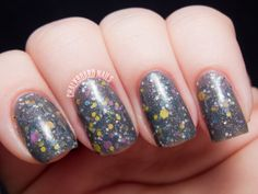 Best Witches is a grey based jelly shade with bunches o' glitter.