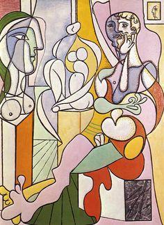 Pablo Picasso - The Sculptor 1931