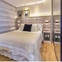 Bom dia!!! Pra não ter vontade de sair da cama uma suíte super aconchegante. Os tons pastéis é uma ótima escolha que favorece o relaxamento e tranquilidade. Por Mariane e Marilda Baptista . . Acompanhem nossos projetos no @depaulaenobrega