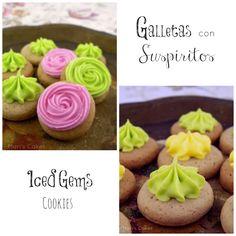Meringue Kissed Cookies or Iced Gems Cookies